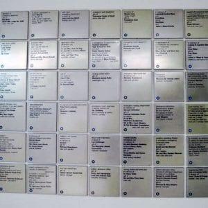 לוח הנצחה לבית חולים